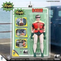 """Dc comics #batman classic 1966 tv series - #robin  8"""" inch retro #action figure ,  View more on the LINK: http://www.zeppy.io/product/gb/2/142156523138/"""