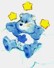Cb Care Bear Birthday, Stickers Online, Care Bears, Smurfs, Coloring Pages, Avengers, Animation, Cousins, Random Things