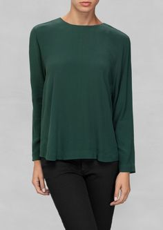 & Other Stories | Drape Effect Blouse