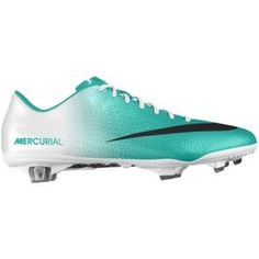womens soccer cleats   Nike Mercurial Vapor IX FG iD Custom Women's Soccer Cleats - Green, 10
