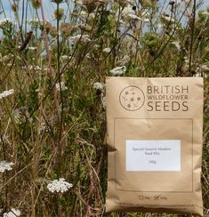 Our Special General Meadow Seed Mix - specially designed for the more fertile soils you typically find in gardens. Available in packets from High % and diversity of wildflowers, harvested in the UK. It's time to seed! Achillea Millefolium, Clay Soil, Wildflower Seeds, Seed Packets, Screwed Up, Seed Starting, Hedges, Perennials, Wild Flowers