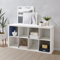 Better Homes & Gardens 8-Cube Storage Organizer, Multiple Finishes - Walmart.com - Walmart.com Cube Organizer, Cube Storage, Storage Bins, Storage Organization, Rustic Shelving Unit, Particle Board, Organizing Your Home, Better Homes And Gardens, Table And Chairs