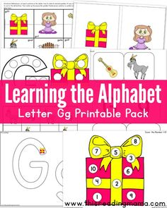 Letter G Pack from Learning the Alphabet