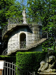 The Tower in the center of the maze, Villa Pisani, Stra Italy