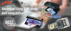 Amankan uang THR anda dari uang palsu dengan alat deteksi uang pilihan kami
