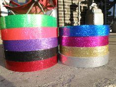 30 ft. roll of 1 Metallic Glitter Hoop Tape  by ColoradoHulaHoops, $5.99