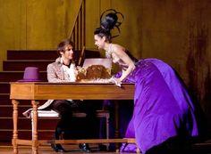 Mikelangelo Loconte as Mozart & Melissa Mars as Aloysia Weber in Mozart l'Opera Rock © Isopix #purple #dress