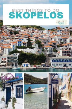Discover the best beaches, bars, restaurants, tours and photo opportunities in Skopelos - the Greek Island made famous by the Mamma Mia movie. #skopelos #greece #greekislands #europe #summerholiday via @girltweetsworld