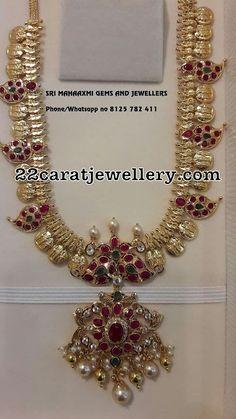 Mango and Ramparivar Combination Set - Jewellery Designs