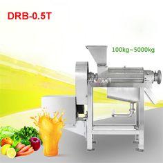 110V / 220V 0.5 T / H High Industrial Capacity Juicer Extractor / Industrial Machine Extractor Juice DRB-0.5T 400r / min juicer #Affiliate