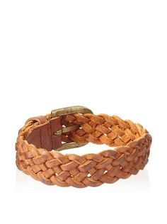 Will Leather Goods Tan Warbler Braided Bracelet
