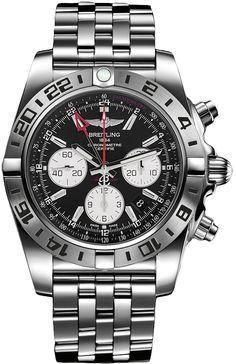 43095573f23 AB0413B9 BD17-383A BRAND NEW Breitling Chronomat GMT Mens 47mm Automatic  Chronograph Watch -