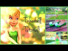 Tinkerbell Tutorial! Hair, Makeup, and DIY Costume! (+playlist)