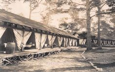 RPPC Tent House at Asilomar Conference Grounds Pacific Grove, California~107997