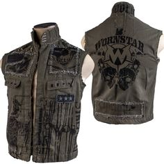 Custom Wornstar Strength Vest WSCV-249