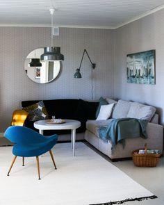 Olohuoneen nurkkaus, vintage, retro. Livingroom corner. Conference Room, Corner, Living Room, Retro, Table, Furniture, Vintage, Home Decor, Decoration Home