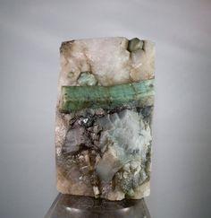 3lb 6oz Brazilian Emerald Cluster in Quartz by DanPickedMinerals, $375.00