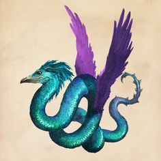 Occamy/Occami: one of my favorite magical creatures! Harry Potter Creatures, Fantastic Beasts And Where, Fantasy, Fantastic Beasts Creatures, Drawings, Beast, Beast Creature, Fan Art, Occamy Fantastic Beasts