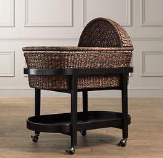 Love this heirloom bassinet.