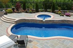 Photos of fiberglass pools