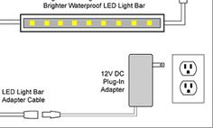 Kitchen led under cabinet lighting kit wiring diagram a beautiful led wiring diagrams for 12v led lighting elemental led academy asfbconference2016 Choice Image