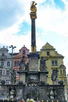 http://www.123rf.com/photo_51659966_plague-column-in-pilsen-czech-republic.html