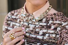 collar embellishment - Recherche Google