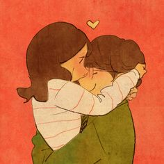 Find images and videos about love, love is and puung on We Heart It - the app to get lost in what you love. Love Cartoon Couple, Cute Couple Art, Couple Illustration, Illustration Art, Puuung Love Is, Art Amour, Couple Drawings, Art Drawings, Korean Artist