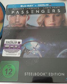 Passengers (Steelbook) [Blu-ray]. Jennifer Lawrence, Chris Pratt. Science Fiction. | eBay!