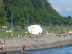 The white rock at White Rock by TheBuckyHermit Mc G, 1940s, Vancouver, Dolores Park, Canada, Rock, Travel, Seasons, Image