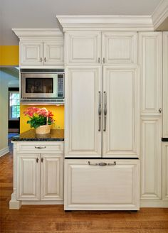 Kitchen On Pinterest Refrigerators Pantries And Cabinets