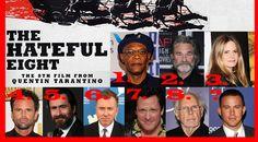 Svelato il cast di Tarantino in The Hateful Eight