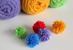 These mini yarn pom poms for our letter Y in ourHoliday ABC seriesare so much fun to make. Your kids can help by doing the wrapping. It's the perfect craft to make for fun holiday decor. Supplies for Mini Yarn... Continue Reading →