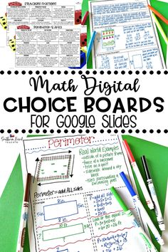 These Science Choice Boards for Google Slides are perfect for bringing student choice and differentiation to your distance learning curriculum! Your students will LOVE to be able to choose how they show what they've learned. This includes an editable choice board where you can create your own choice board. #distancelearning #googleslides #choiceboards #science #studentchoice #differentiation Elementary Math, Kindergarten Math, Math Resources, Math Activities, Numerical Expression, Math Fact Fluency, Computer Projects, Whole Brain Teaching, Choice Boards