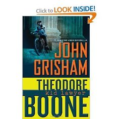"""""""In the small city of Strattenburg, there are many lawyers, and though he's only thirteen years old, Theo Boone thinks he's one of them. Theo knows every judge, policeman, court clerk - and a lot about the law.""""  This book is laugh out loud fun."""