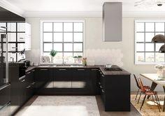 Página no encontrada - Error 404 - TPC Cocinas Kitchen Island, Home Decor, Crystal, Blanco Y Negro, Kitchens, Urban Swag, Island Kitchen, Homemade Home Decor, Decoration Home