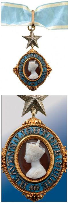 MOST EXALTED ORDER OF THE STAR OF INDIA KNIGHT : Lot 373