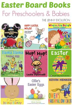 Easter Board Books for Preschoolers and Babies