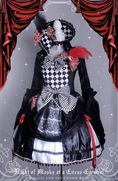 Pirates and the Crown Rose <Night of Masks at a Circus Carnival>