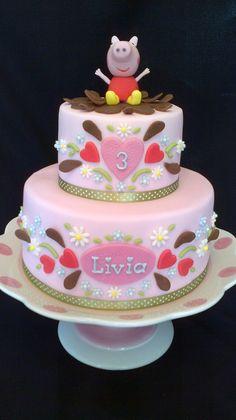 PEPPA PIG BIRTHDAY CAKE | Flickr - Photo Sharing!