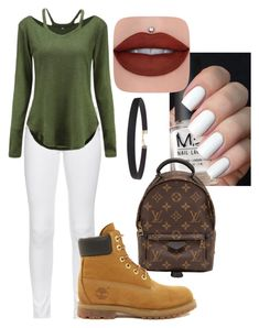 """women outfit"" by sujarlincmaldonadoc on Polyvore featuring moda, rag & bone, Louis Vuitton, Timberland y Humble Chic"