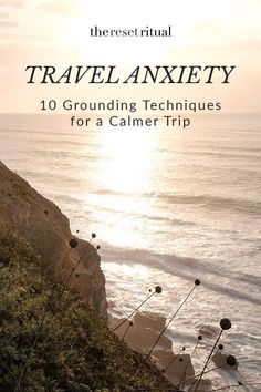 Is travel anxiety keeping you from enjoying your trips? These 10 grounding techniques will help you feel calm, centered and ready for your next adventure. Anxiety Tips, Anxiety Help, Social Anxiety, Travel Essentials, Travel Tips, Travel Hacks, Travel Box, Slow Travel, Travel Advice