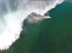 Incredible Surf filmed w/ a Drone and GoPro ~ Hawaii's North Shore