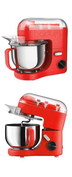 BISTRO Stand Mixer Red by BODUM #productdesign #industrialdesign