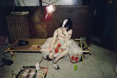 Nan Goldin. Trixie on the Cot, New York City. 1979
