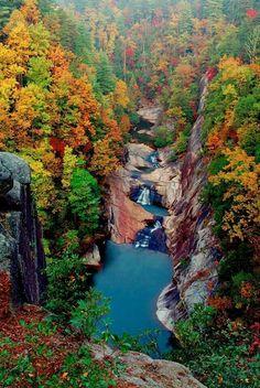 Tellulag Gorge, Georgia