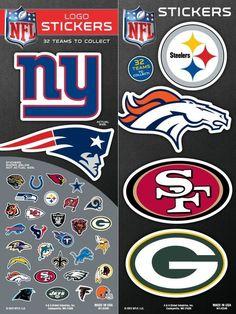 NFL Football Team Logo Sticker Chose Your Own Team NEW! All 32 Available! | Sports Mem, Cards & Fan Shop, Fan Apparel & Souvenirs, Football-NFL | eBay!