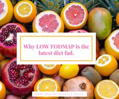 Why Low FODMAP is the latest diet fad A Balanced Belly