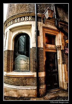 The Globe - Borough Market,London.  I went for a drink here once with a very inspiring person.