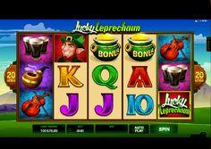 Hrací automaty Lucky Leprechaun - Lucky Leprechaun je 5 válcový, 3 řadový hrací automat od Microgaming s 20 výherními liniemi s tématikou Irských oslav dne štěstí, ve které postavičky Leprechaun jsou jejich symbolem. #HraciAutomaty #VyherniAutomaty #Jackpot #Vyhra #Lucky #Leprechaun